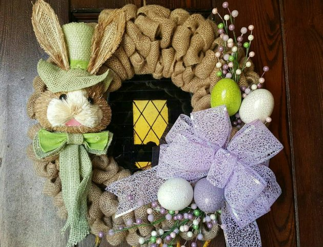 15 Whimsical Handmade Easter Wreath Designs You're Going To Adore