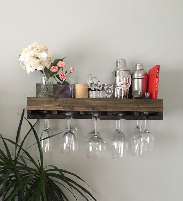 16 Charming Handmade Wine Rack Designs For All Of You Wine Lovers