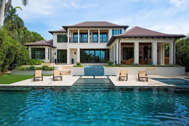 Extravagant Transitional Swimming Pool Designs You Won