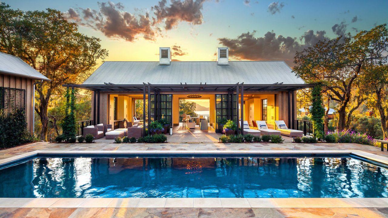 16 Extravagant Transitional Swimming Pool Designs You Won\'t ...