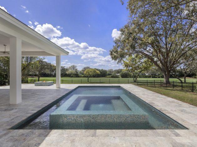 16 Extravagant Transitional Swimming Pool Designs You Won't Regret Seeing