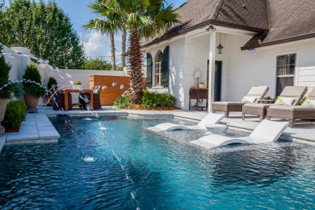 16 Extravagant Transitional Swimming Pool Designs You Wont Regret Seeing