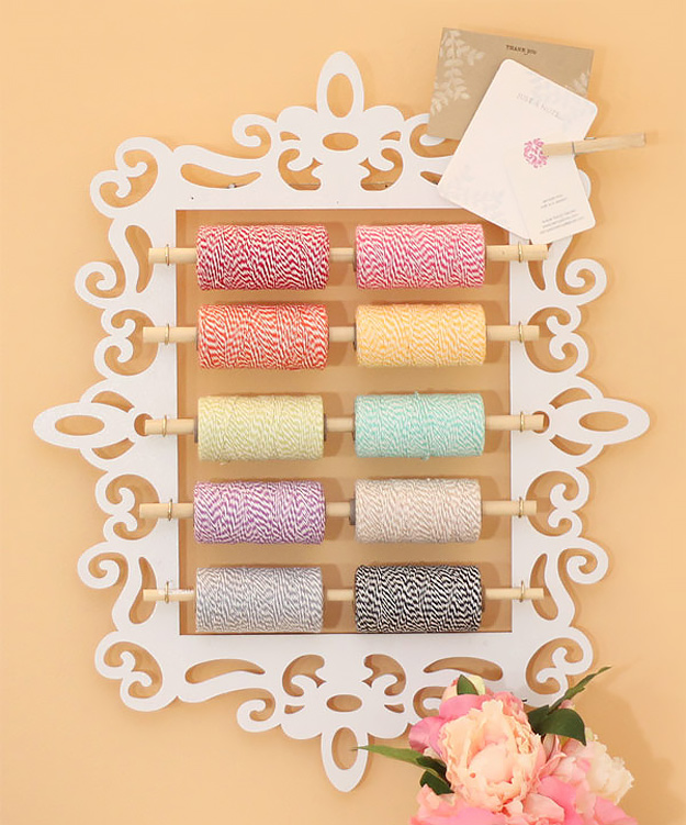 16 Neat DIY Projects For Your Craft Room