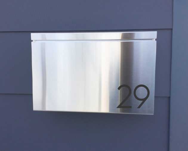 16 Sleek Handmade Modern Mailbox Designs To Complement Your Exterior