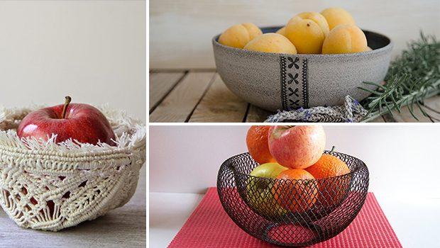 16 Stunning Handmade Fruit Bowl Designs For Spring Table Decor