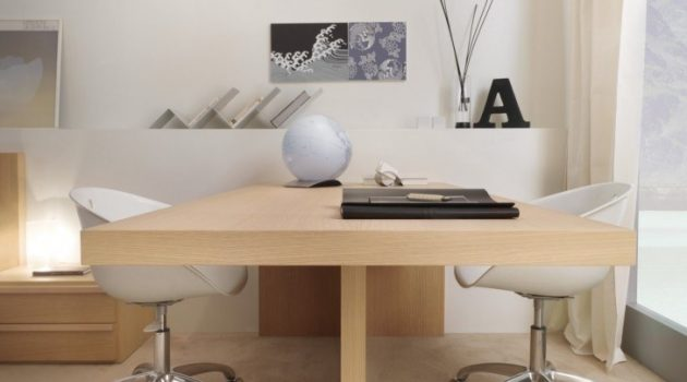 19 Super Functional Desk Designs For Two Persons
