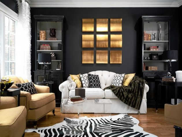 17 Bold Interiors With Black Wall For Those Who Think Outside The Box