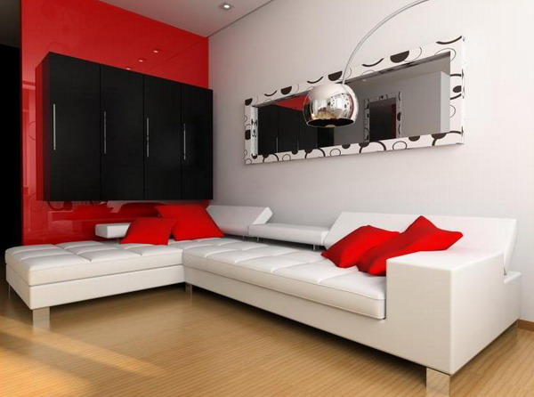 10 Outstanding Red White Living Rooms That Are Simply Amazing