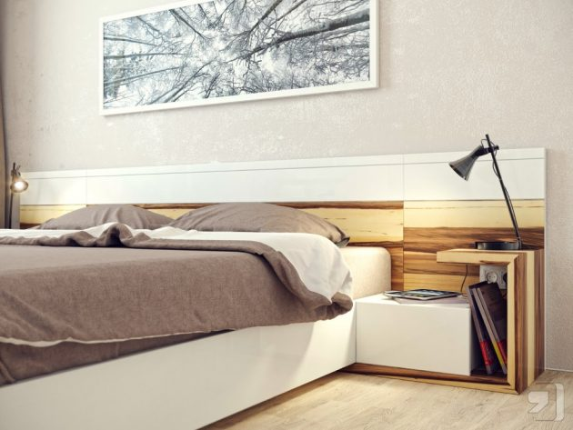 18 Modern Bedside Table Designs To Enter Diversity In The Bedroom