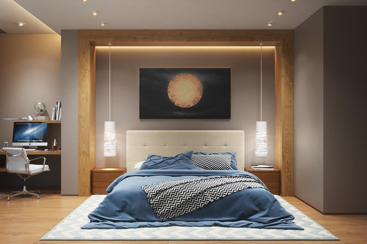 Освещение для спальни дизайн