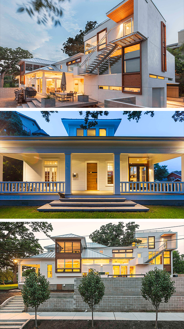 9th Street House by Tom Hurt Architecture in Austin, Texas