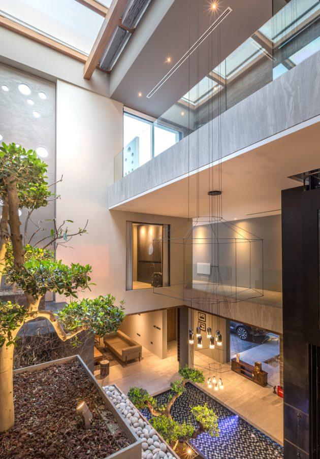 AAK Villa by MORIQ Interiors & Design Consultants on Amwaj Islands in Bahrain