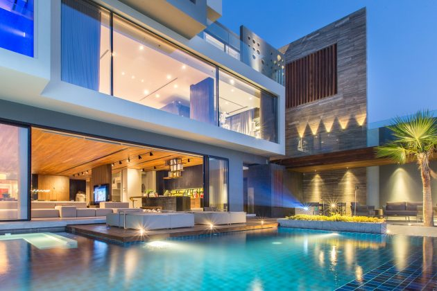 AAK Villa by MORIQ Interiors & Design Consultants on Amwaj Islands in Bahrain