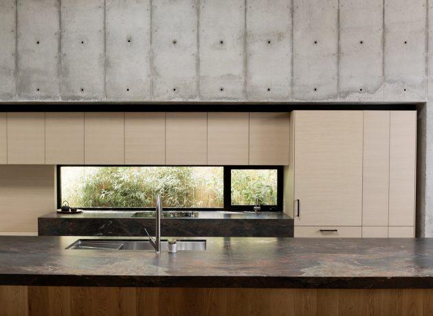 Concrete Box House by Robertson Design in Houston, Texas