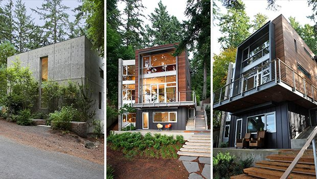 Dorsey Residence by Coates Design on the Bainbridge Island in Washington