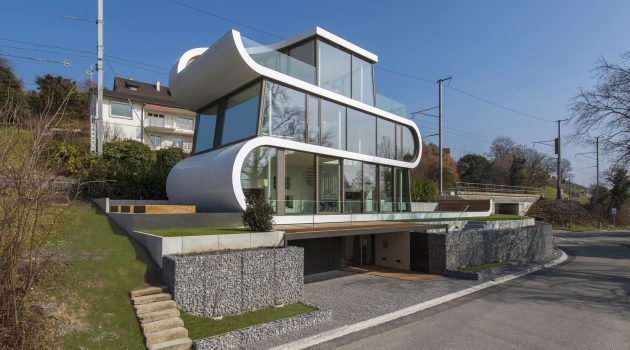 Flexhouse by Evolution Design in Meilen, Switzerland
