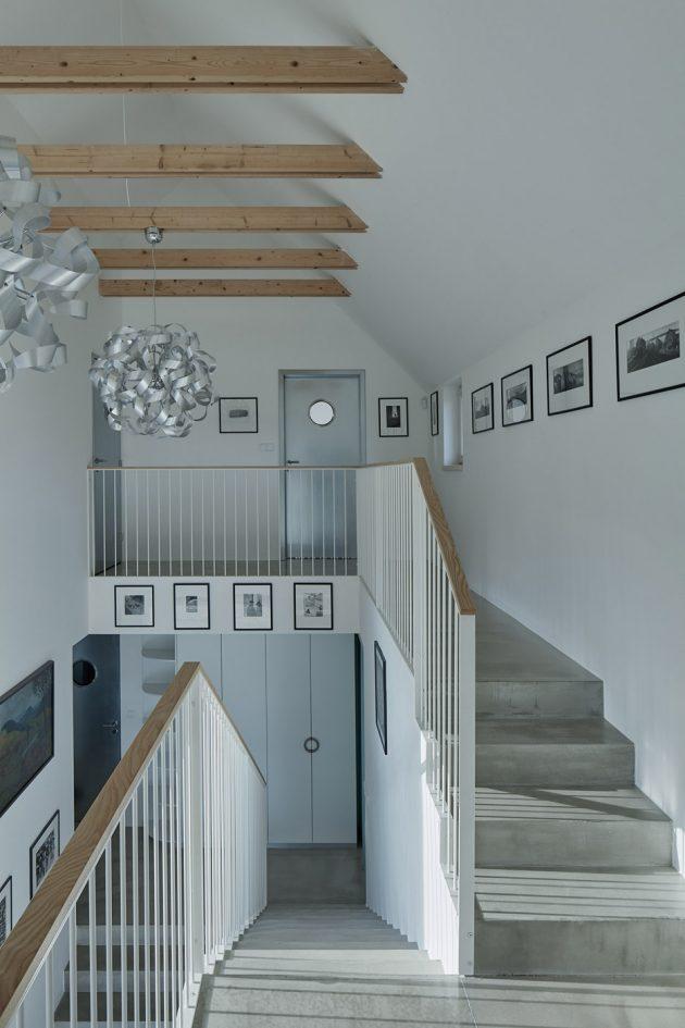 House for Marketka by Mjölk Architekti in Točník, Czech Republic