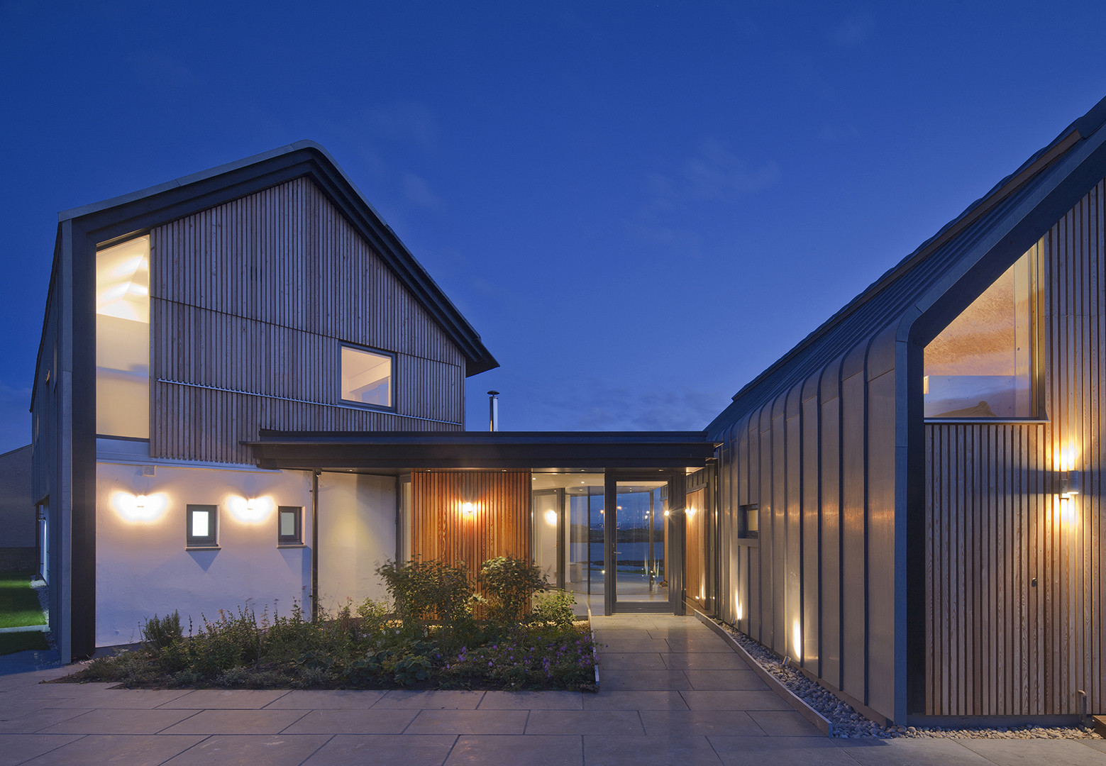 House In Elie By Wt Architecture In Fife Scotland