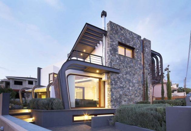 Laiki Lefkothea Residence by Tsikkinis Architecture Studio in Limassol, Cyprus