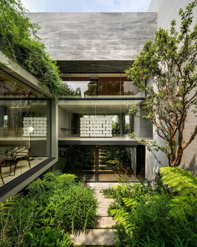 O Cuatro Residence by Migdal Arquitectos in Mexico City, Mexico