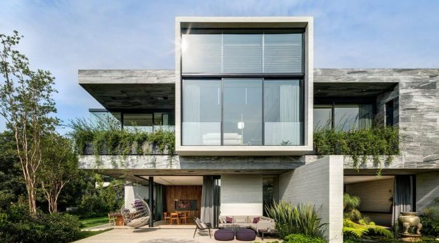 O Cuatro Residence by Migdal Arquitectos in Mexico City, Mexico