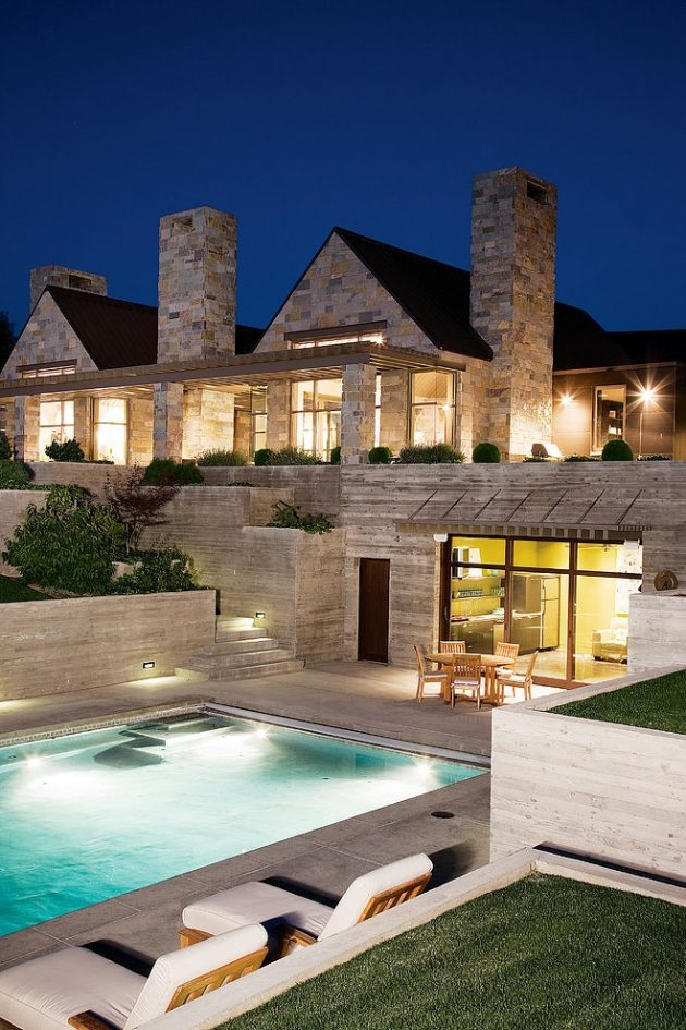 Selah Residence by Stuart Silk Architects in Washington, USA
