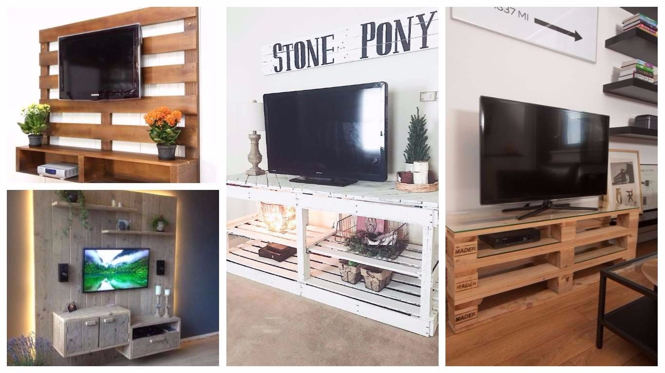 Pallet Tv Stand pallets tv stand archives - architecture art designs