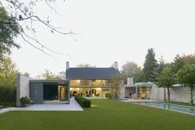 Villa Rotonda by Bedaux de Brouwer Architects in Goirle, The Netherlands