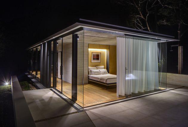 Wirra Willa Pavilion by Matthew Woodward Architecture in Somersby, Australia