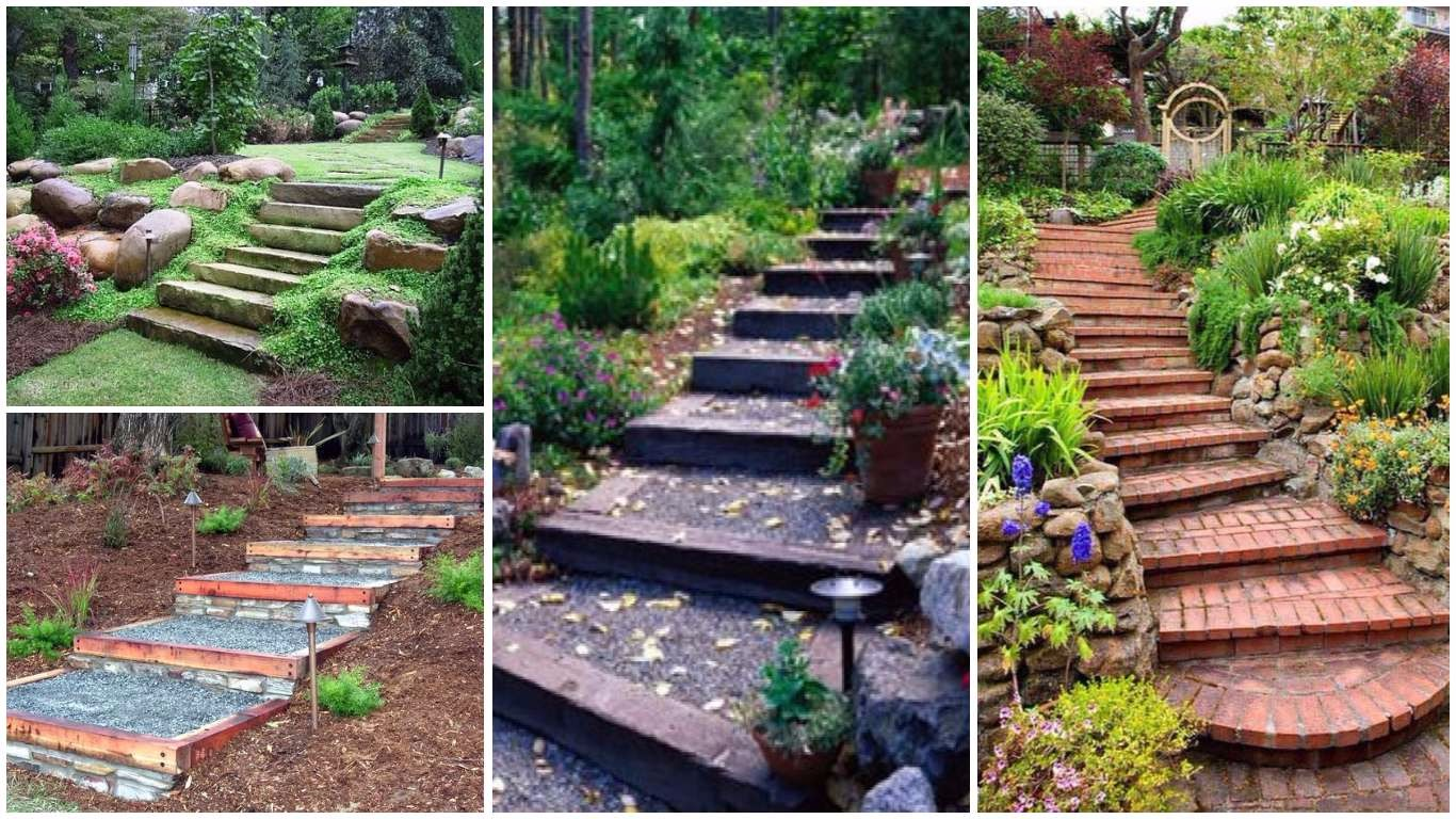 14 Fascinating Garden Steps That You Can Make In Your Free