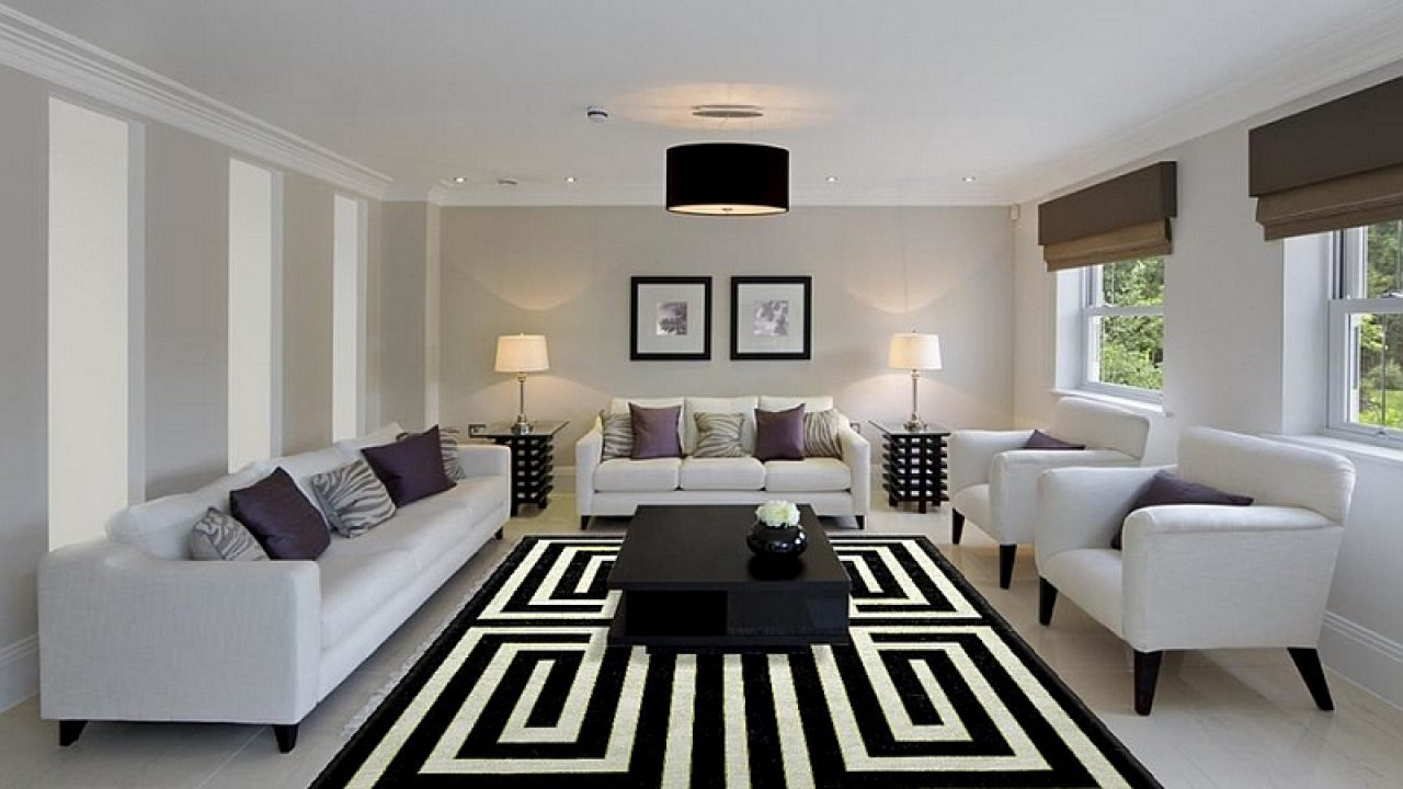 18 Excellent Black & White Carpet Designs To Adorn Your ...