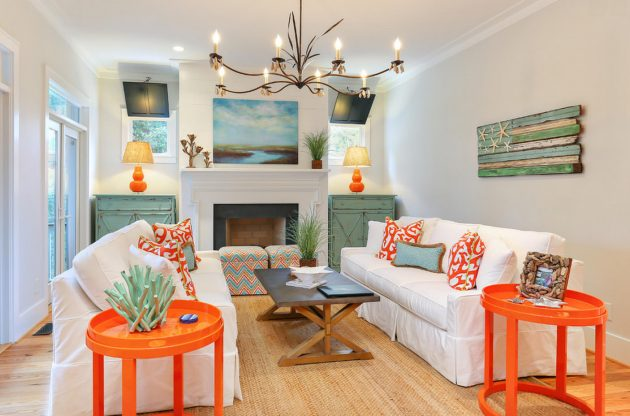 Super Inspirational Ideas For Decorating Beach Themed Living Room Largest Home Design Picture Inspirations Pitcheantrous