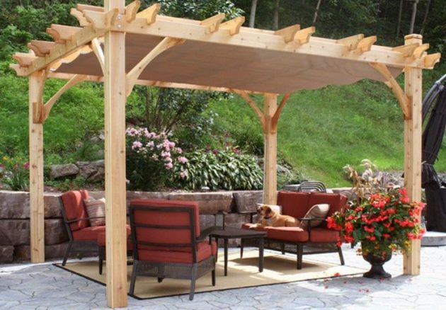 20 Truly Fascinating Pergolas For Real Enjoyment
