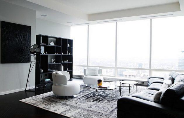 18 Excellent Black White Carpet Designs To Adorn Your Living Room