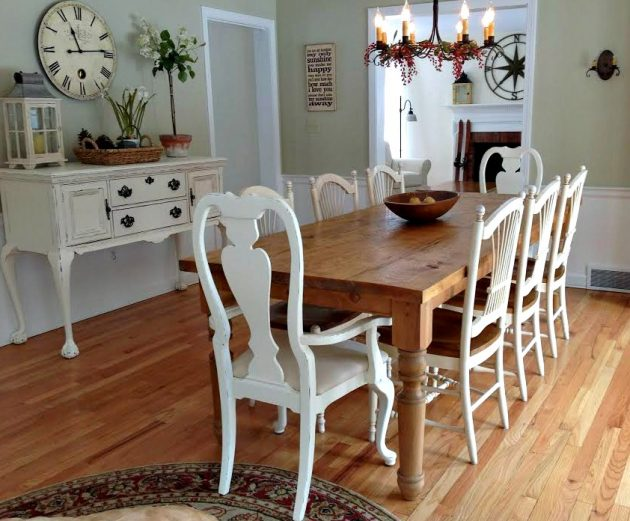 14 Delightful Farmhouse Dining Rooms That Will Catch Your Eye