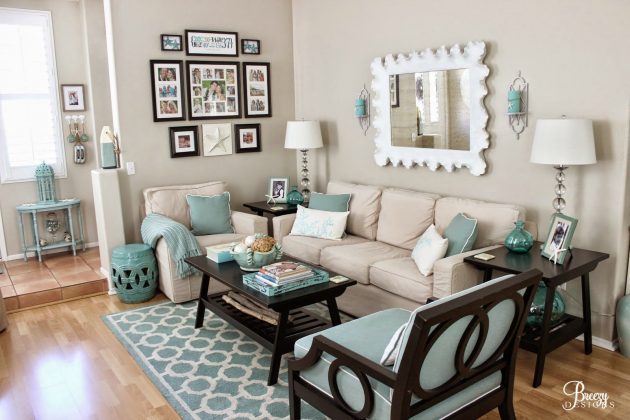16 Inspirational Ideas For Decorating Beach Themed Living Room