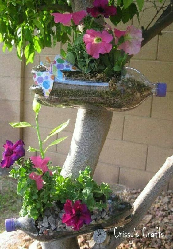 15 DIY Plastic Bottle Planters That You Havent Seen Before