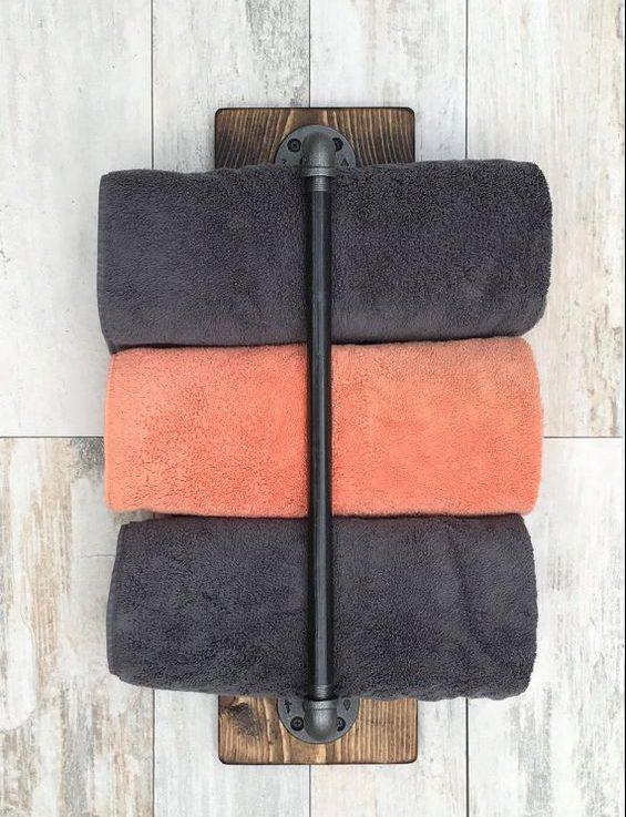 18 DIY Towel Storage Ideas To Easily Organize The Bathroom