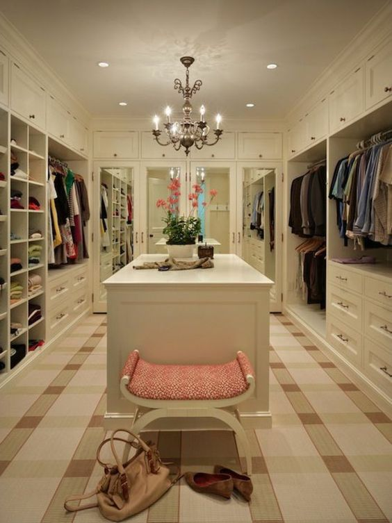 14 Inspirational Ideas For Decorating Perfect Walk In Closet