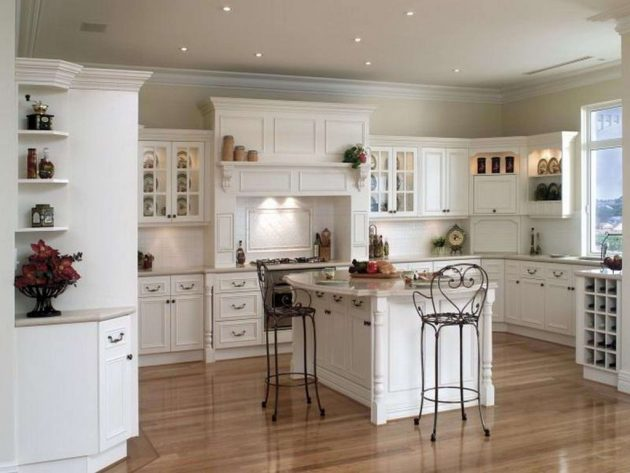 16 Stylish Ideas For Decorating White Kitchen