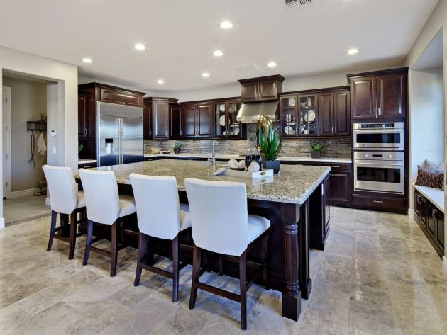 marble floor in kitchen 15 delightful kitchen designs with marble flooring for 7366