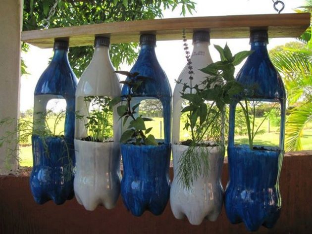 15 DIY Plastic Bottle Planters That You Haven't Seen Before