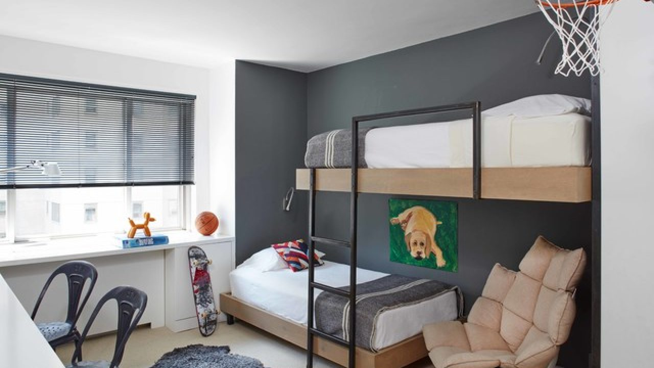 15 Beautiful Contemporary Kids\' Room Designs That Will ...