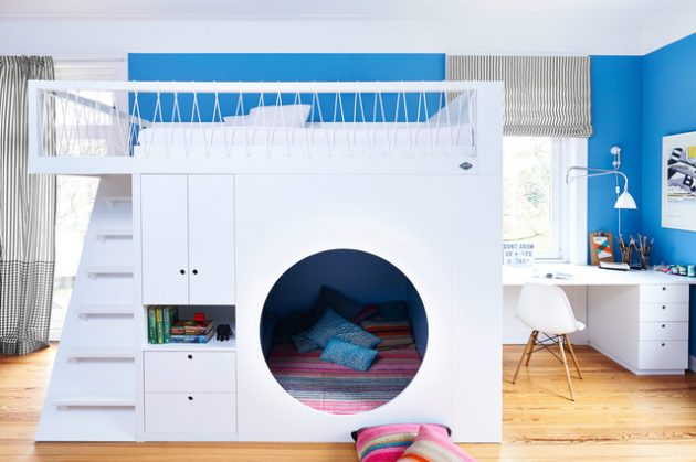 15 Beautiful Contemporary Kids Room Designs That Will Entertain Your Children