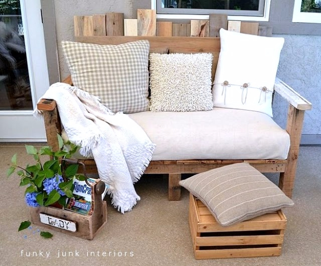 15 Cool DIY Couch Ideas For Indoors And Outdoors