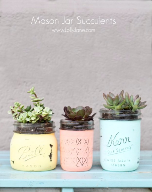 15 Fantastic DIY Mason Jar Crafts You Should Try This Spring