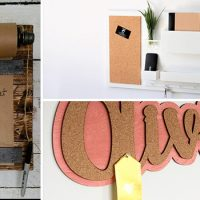 15 Practical Handmade Message Board Designs That Will Keep You Organized