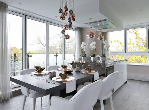 Show Home 15 Spectacular Contemporary Dining Room Designs