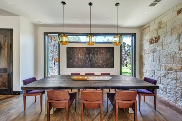 15 Spectacular Contemporary Dining Room Designs