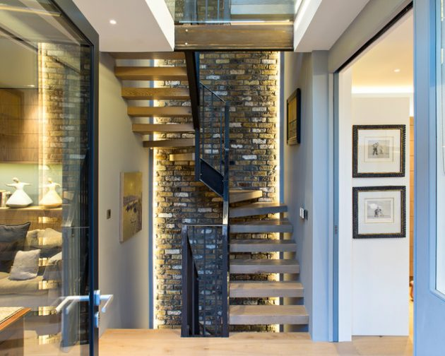 15 Splendid Contemporary Staircase Designs That You Need To Have In Your Home